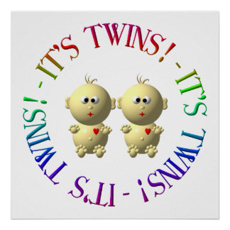 It's twins! poster