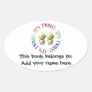 It's twins! stickers