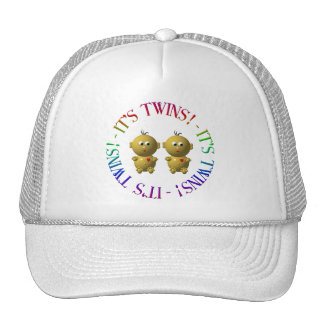 It's twins! trucker hat