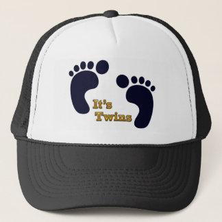 its twins trucker hat