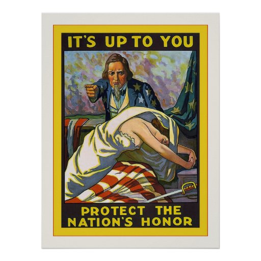 It's Up To You ~ Vintage World War 1 Posters