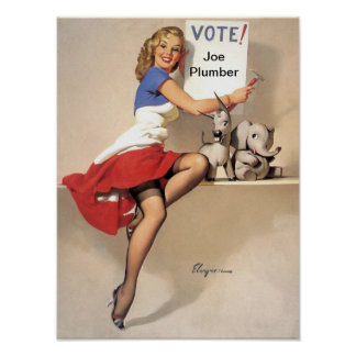 It's Up To You - Vote for X Print