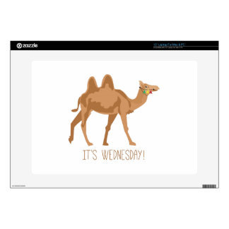 """Its Wednesday Decal For 15"""" Laptop"""