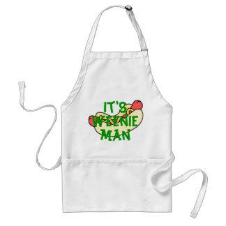 It's Weenie Man! Adult Apron