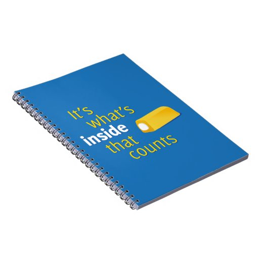 It's What's Inside That Counts Notebooks