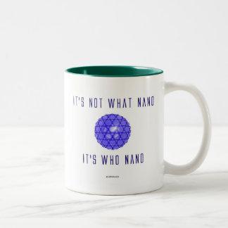 It's Who Nano (1) Two-Tone Coffee Mug