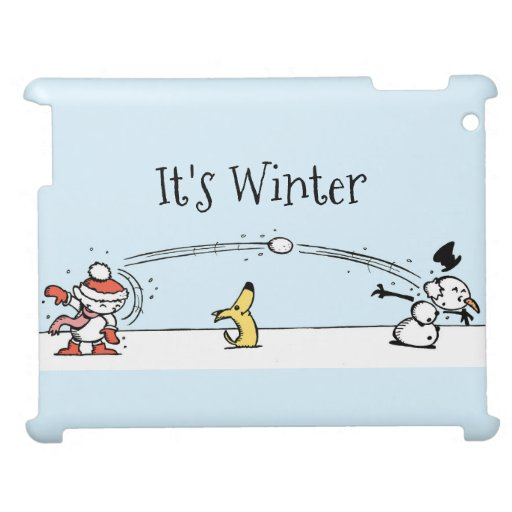 It's Winter Case for the iPad