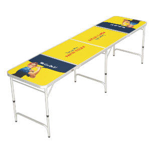It s Your Custom Rosie Party Personalize This Beer Pong Table bfa0cadd4