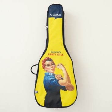 Professional Business It's Your Custom Rosie Party Personalize This Guitar Case