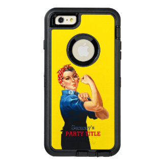 It's Your Custom Rosie Party Personalize This OtterBox Defender iPhone Case