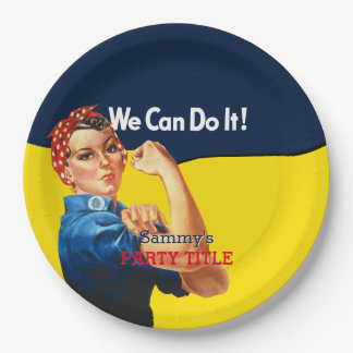 It's Your Custom Rosie Party Personalize This Paper Plate