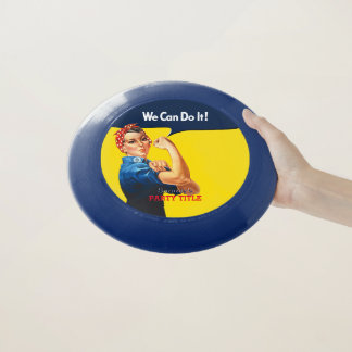 It's Your Custom Rosie Party Personalize This Wham-O Frisbee