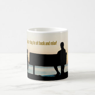"""""""It's your day to sit back and relax"""" Father's Day Coffee Mug"""
