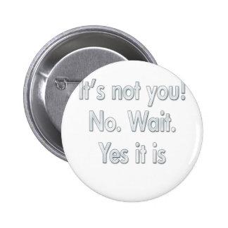 It's Your Fault  Divorce & Breakup Pins