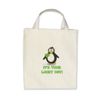 It's Your Lucky Day Canvas Bag