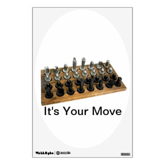 It's Your Move Chess - Decal for Toilet Seats