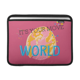 It's Your Move World MacBook Air Sleeve