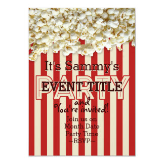 It's Your Party Invitation 12 lines 2 sided insert