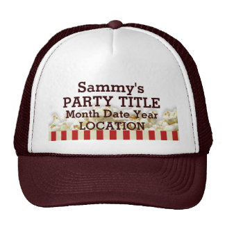 It's Your Personalized Party Hat Popcorn Style