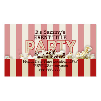 It's Your Personalized Party Supply. Business Card