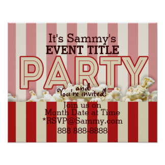 It's Your Personalized Party Supply. Print
