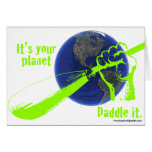 IT'S YOUR PLANET - PADDLE IT! CARDS