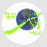 IT'S YOUR PLANET - PADDLE IT! STICKER