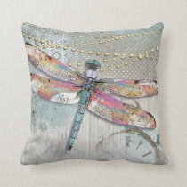 It's Your Time To Shine Dragonfly Pillow