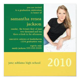 It's Your Year Graduation Invitation (Green)