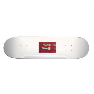 Its yours, and its a number 87. skateboard