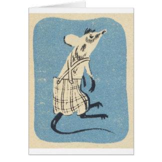 Itsa Mouse! Vintage Card