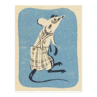Itsa Mouse! Vintage Postcard