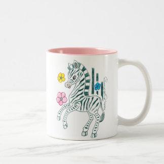 ItsAGirlMug Two-Tone Coffee Mug