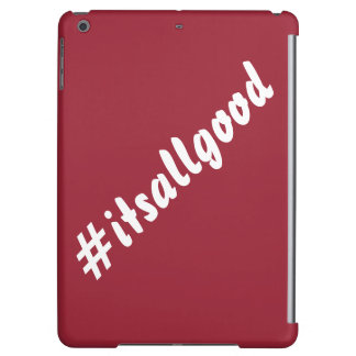 #itsallgood iPad Air Case - RED