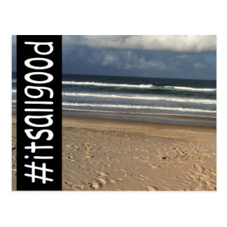 #itsallgood postcard