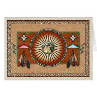 Itsee'tsoli~Red Tailed Hawk Card