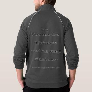 Itself aa fleece zip jog jacket