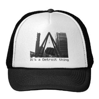 it'ss a detroit thing Trucker cap Trucker Hat