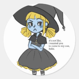 Itsukacon's Mascot! Round Sticker