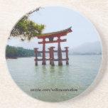 Itsukushima Shrine Gate Beverage Coaster