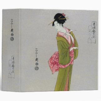 Itsutomi (1793) by Eishi Hosoda 1756-1829 3 Ring Binders