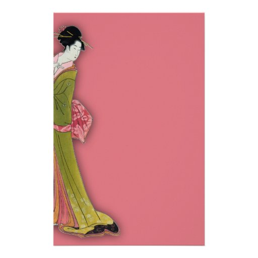 Itsutomi (1793) by Eishi Hosoda 1756-1829 Stationery