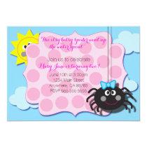 Itsy Bitsy Spider Invite