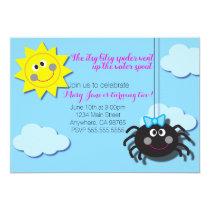 Itsy Bitsy Spider Invite (No Pink Background)
