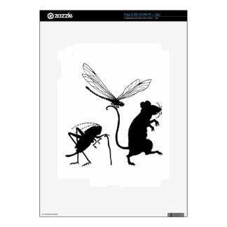 Itty Bitty Critters Skins For iPad 2