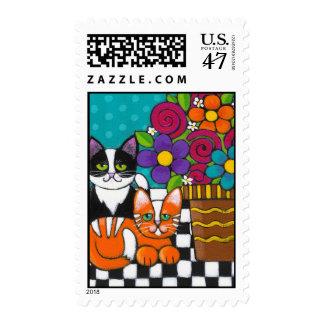 Itty Bitty Kitties Postage