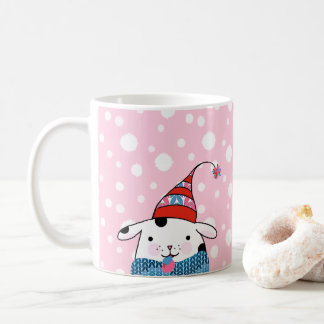 Itty Bitty Knitting Doggie Mug