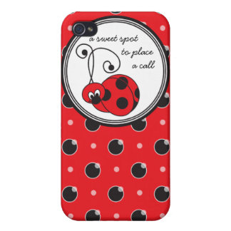 Itty Bitty Ladybug  iPhone 4/4S Cases
