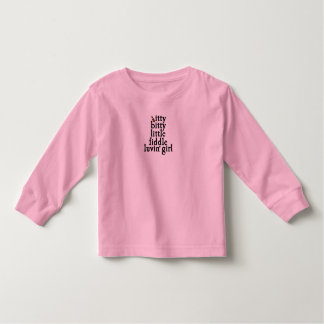 itty bitty little fiddle luvin' girl t-shirts