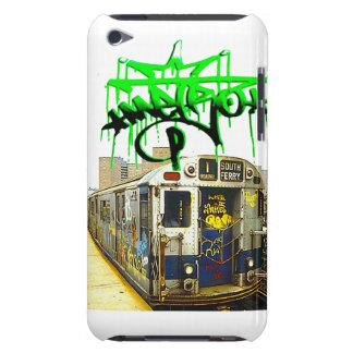 ITUCH CASE GRAFFITI SUBWAY TRAIN iPod Case-Mate CASE